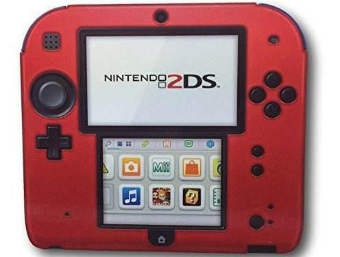 Funda Pdp Funda / Funda De Silicona Para Nintendo 2ds (rojo