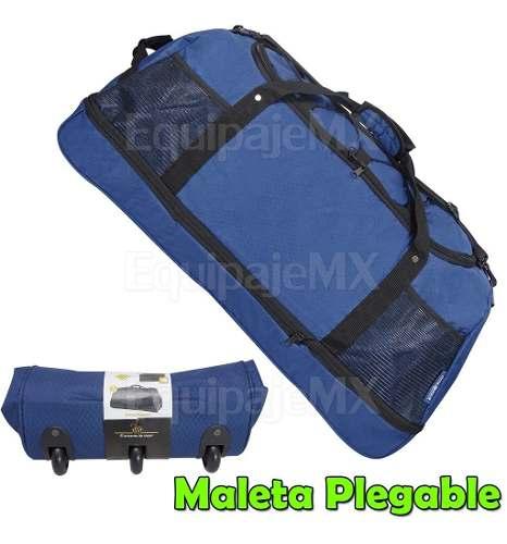 Maleta Bolsa De Viaje Grande Duffle 30 Pulg Con Ruedas _