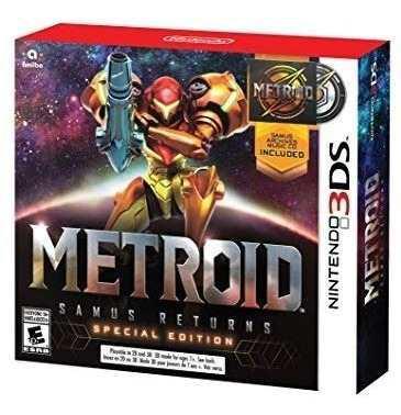 Metroid Samus Returns Edicion Especial Impecable