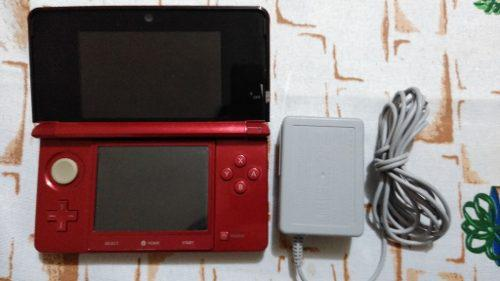 Nintendo 3ds Color Rojo En Muy Buen Estado