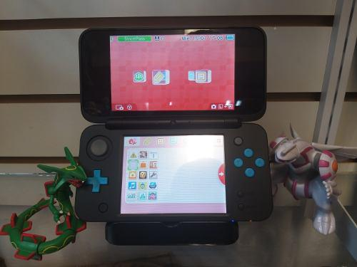 Nintendo New 2dsxl Color Negro Y Turquesa
