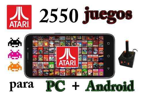 Pack De 2550 Juegos De Atari Para Pc Y Android + Regalo