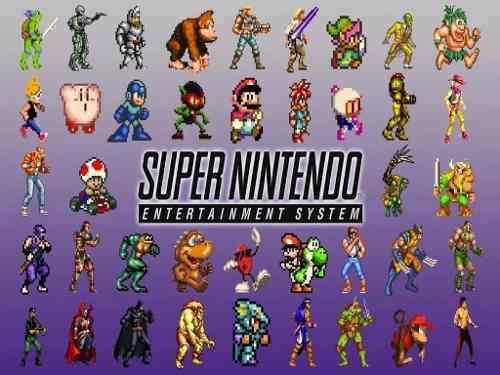 Paquete De Juegos Super Nintendo Snes Para Pc Y Android:)
