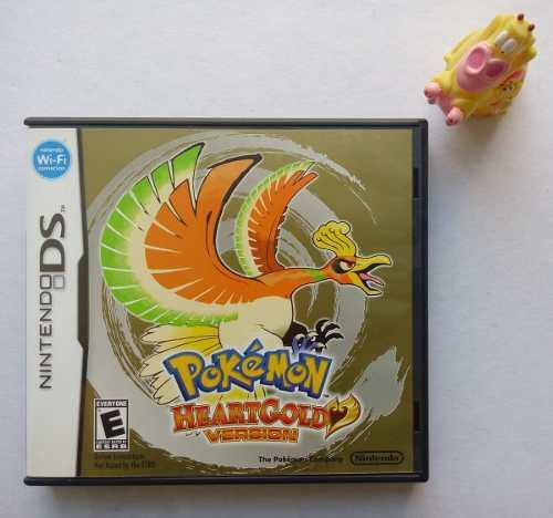Pokémon Heartgold Version Nintendo Ds Nds
