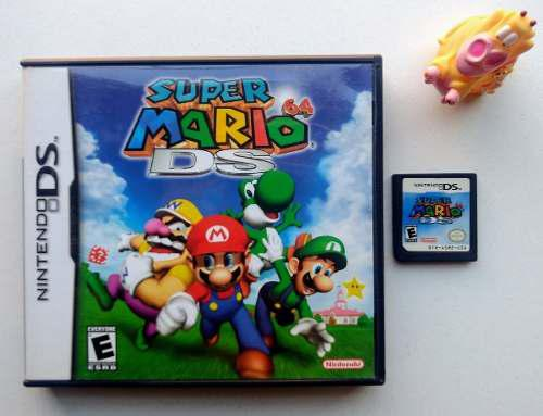Super Mario 64 Nintendo Ds Garantizado * Mundo Abierto Vg *