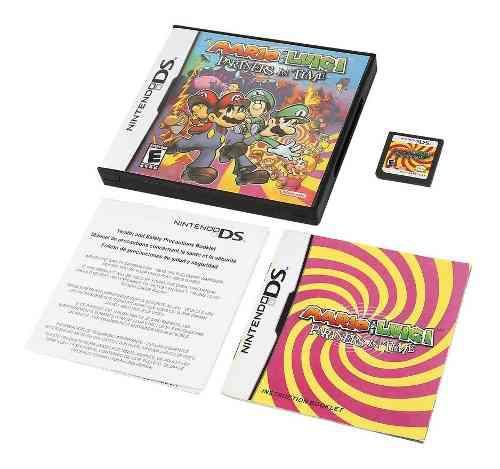 Tarjeta De Juego Para Nintendo Ds La Leyenda De Zelda Mario