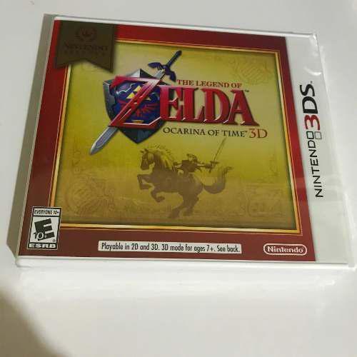 The Legend Of Zelda Ocarina Of Time 3ds Nuevo Y Sellado