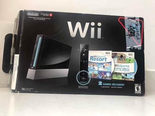 Wii En Buenas Condiciones, Incluyes 2 Controles Y 6 Juegos