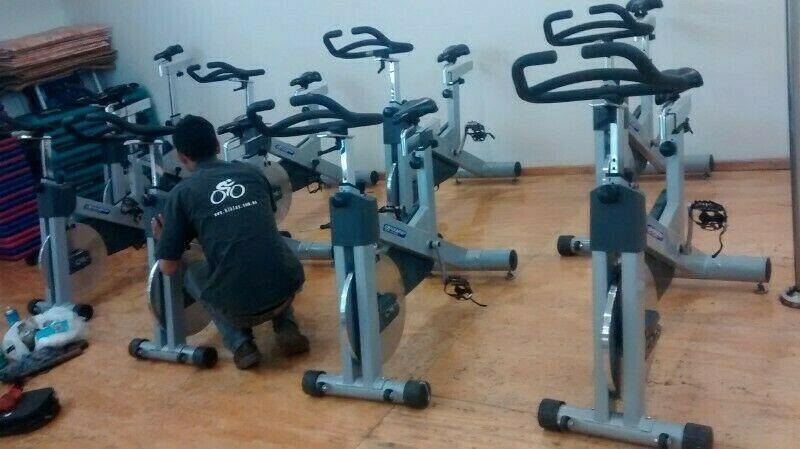 taller caminadoras servicio aparatos de ejercicio gym bicis