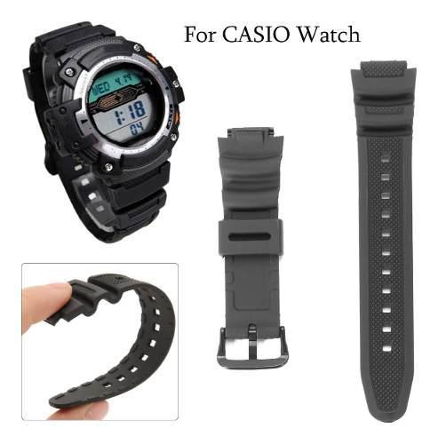 Correa De Repuesto Para Reloj Casio Aq-s810w Sgw-300h Sgw-40