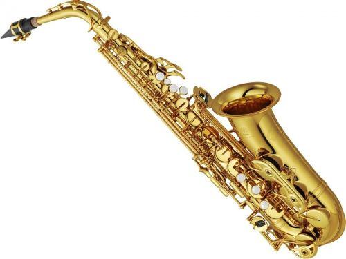 Saxofón Alto Yamaha Profesional Laqueado Yas-