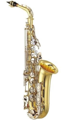 Saxofón Alto Yamaha Yas-26 Estándar Llaves Niqueladas