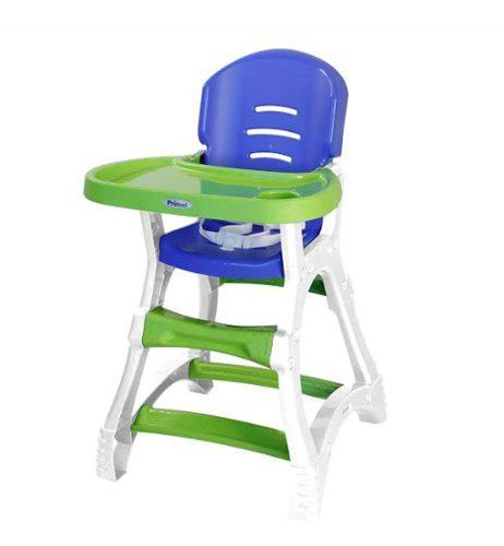 Silla De Comer Para Bebe Periquera Verde Azul Prinsel