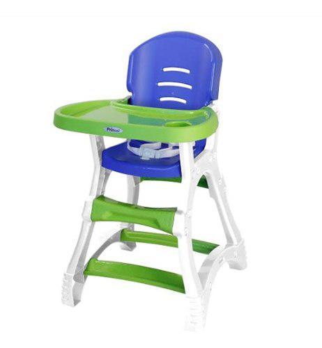 Silla Periquera Para Bebe Dinner Prinsel Verde Azul