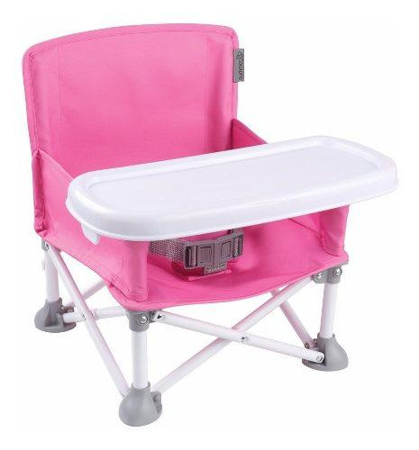 Silla Portátil Para Bebé Booster Summer Infant Rosa