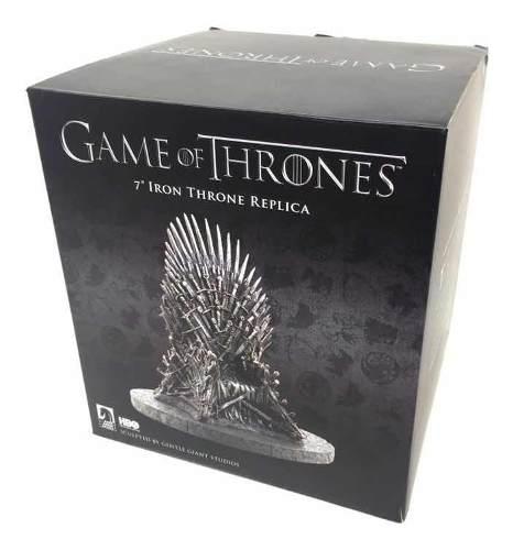 Game Of Thrones Trono De Hierro Replica Miniatura 17cm