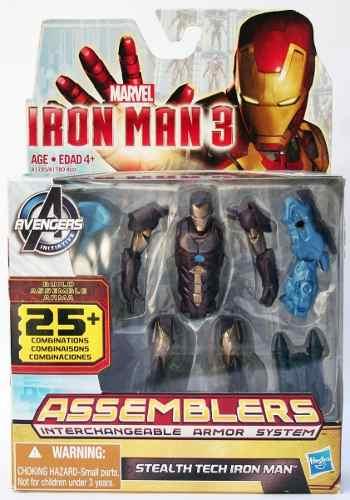 Marvel Figura Iron Man Assemblers Stealth Tech 3.75