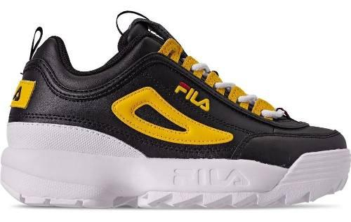 Tenis Fila Jr Disruptor 2 Unisex Clasico Retro Fashion Urban