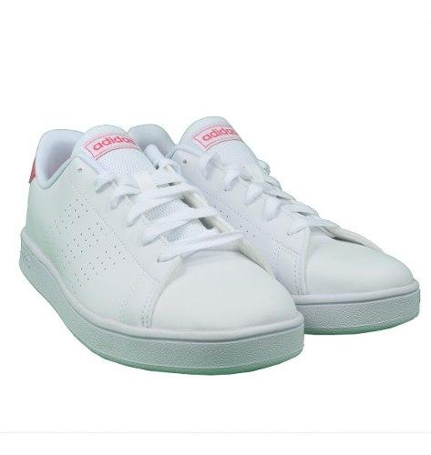 Tenis adidas Mujer Blanco Advantage K Ef