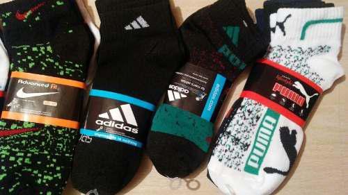 Calcetines De Marcas Por Docena 4 Paquetes De 3 Pares Nike