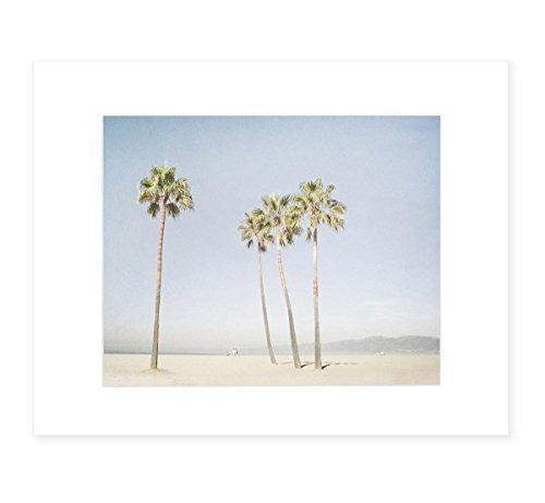 California Wall Art, Venice Beach Palm Tree Art, Santa Monic