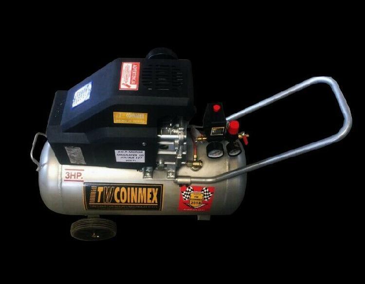 Compresor de aire domestico 3 hp 50lts Twcoinmex