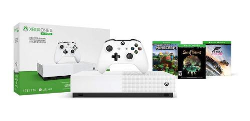 Consola Xbox One S 1tb All Digital Con 3 Juegos Digitales (n