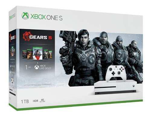 Consola Xbox One S 1tb Gears 5 Bundle Nuevo