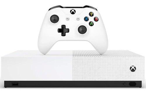 Consola Xbox One S All Digital Sin Lector De Discos 1tb 4k