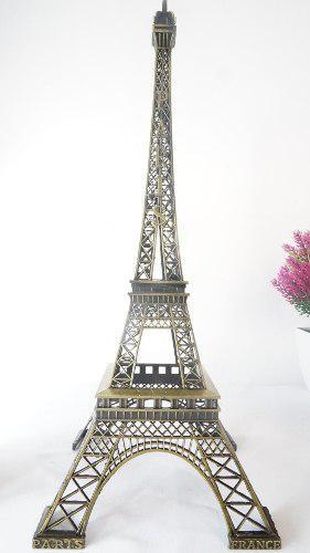 Figura Decorativa Torre Eiffel De 38 Cm