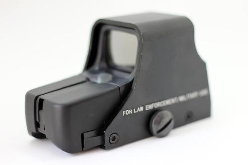 Mira Tactica Tipo Eotech 551 Holográfica Negra