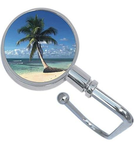 Palm Tree Island Beach Tropical Purse Hanger Y Bolsa