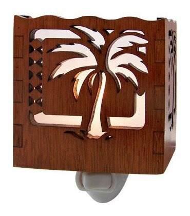 Palm Tree Tropical Night Light 3.5 X 3.25