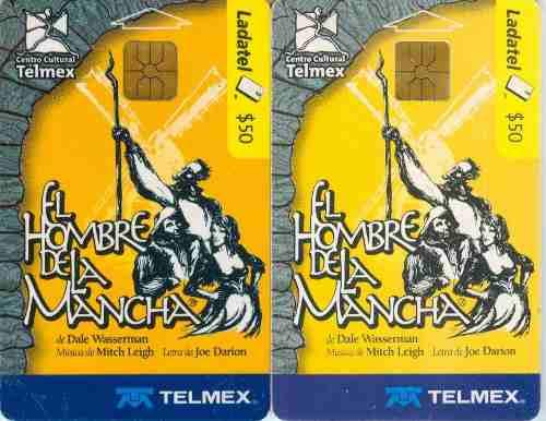 Tarj Quijote De La Mancha Amarillas
