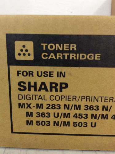 Toner Para Equipos Sharp Mxm283/363/453/503 Marca Katun