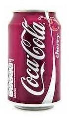Coca Cola Cherry Caja Con 12 Latas Envio Gratis