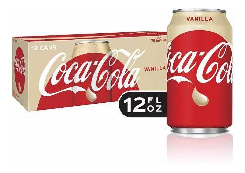 Coca Cola Vainilla Caja Con 12 Latas 355ml Envio Gratis