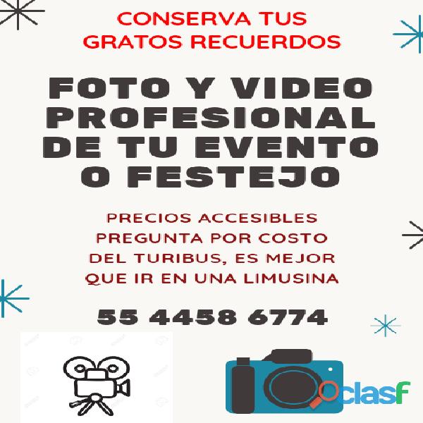 FOTO Y VIDEO DE TU EVENTO INOLVIDABLE