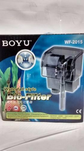 Filtro Cascada Boyu Wf2015 Para Acuarios Peceras Hasta 30lts
