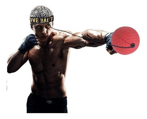 Pelota Box Reflejos Velocidad Ejercicio De Boxeo