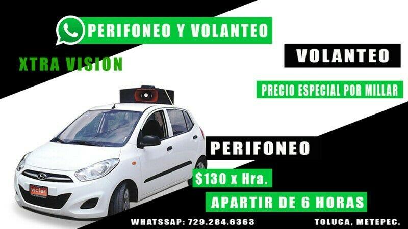 Perifoneo en Toluca y metepec