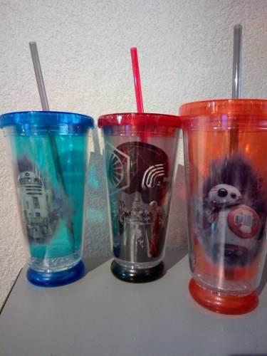 Vasos Star Wars - Cinepolis Con Luz
