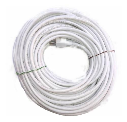 Cable Red 20 Metros Categoría Cat5 Utp Rj45 Ethernet Blanco