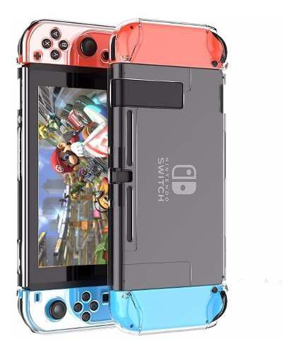 Funda Protector Carcasa Rígida Nintendo Switch Transparente