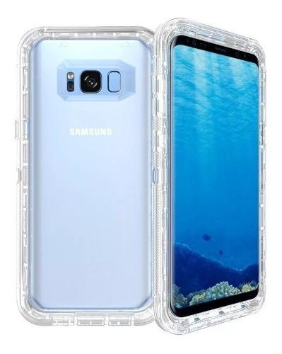 Funda Uso Rudo 360 Samsung S7 Edge S8 S9 S10 + Plus Note 8 9