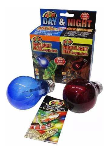 Foco De Dia Y Noche Para Reptiles Zoomed 60w