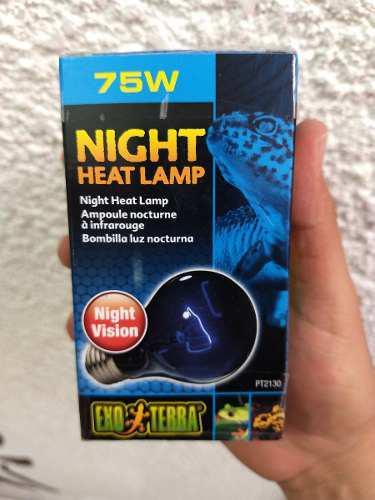 Foco Luz De Noche 75 Watts Exo Terra