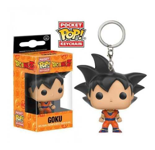 Llavero Keychain Funko Pop Dragon Ball Goku Vegeta Amistad
