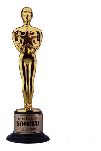 Personalizados 24 Oscares Estatuilla Premio Trofeo Hollywood
