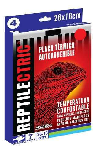 Placa Térmica Terrario Reptiles 26x18 Cm 7 W 6 Pzas 3574